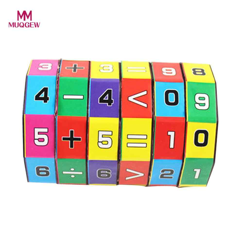 MUQGEW New Slide puzzles Children Kids Mathematics Numbers Magic Cube toys for children kids toys Puzzle Game Gift 25