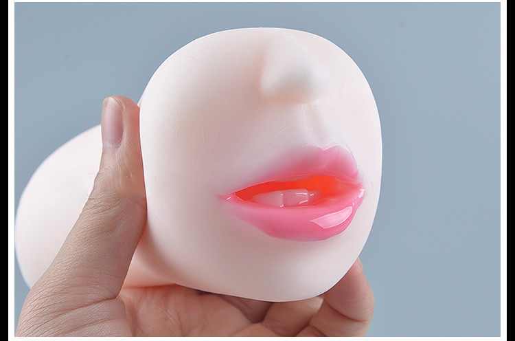 Realistic Blow Job Deep Throat Mouth Oral Male Masturbator Adult Products Artificial Mouth With Tongue Teeth Sex Toys For Men 15