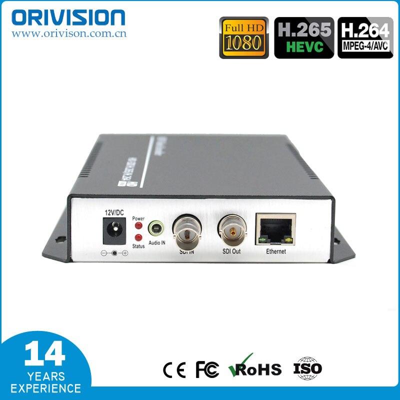 ZY-ES201 H.265 & H.264 SDI Codificador De Vídeo suporte HD/3G SDI Para Codificador IP Ao Vivo Streaming de Áudio e Vídeo HTTP, RTSP, RTMP, UDP, ONVIF