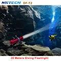 NKTECH DF-T2 Мощный Дайвинг Фонарик archon Охота Прожектор перезаряжаемый фонарь led cree xml l2 xm-l2