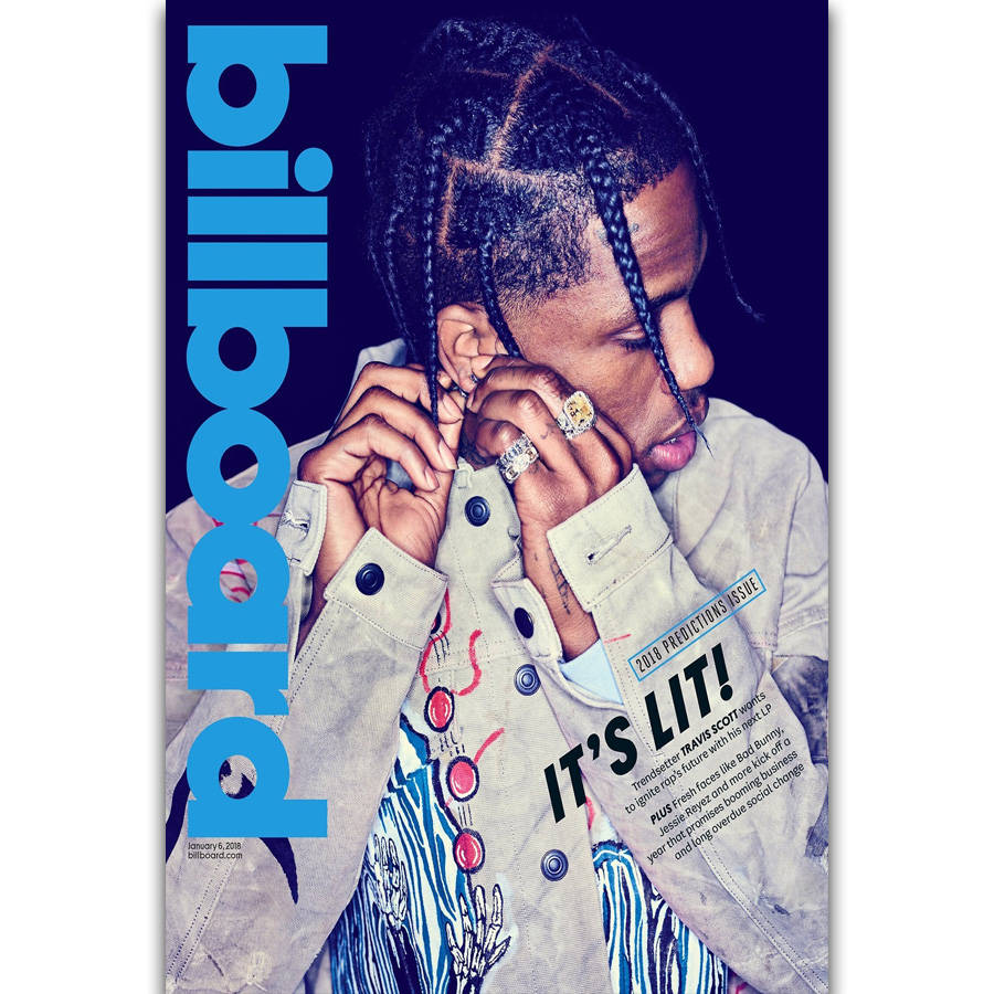 78bb31fdfbb6 FX1209 Hot Travis Scott Rapper Star Rap Music Singer Fashion Cover Poster  Poster Art Silk Canvas Home Room Wall Printing Decor
