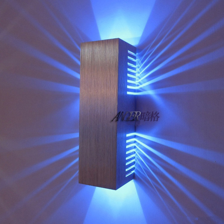 Wall Decoration With Led Lights : Aliexpress buy morden home lighting led wall sconce
