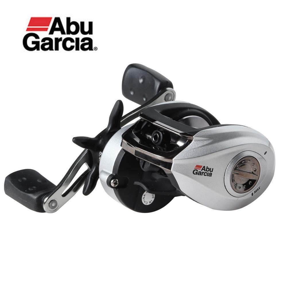 Original Abu Garcia Brand SILVER MAX3 SMAX3 Fishing Reel L R Hand 5 1BB Max Drag