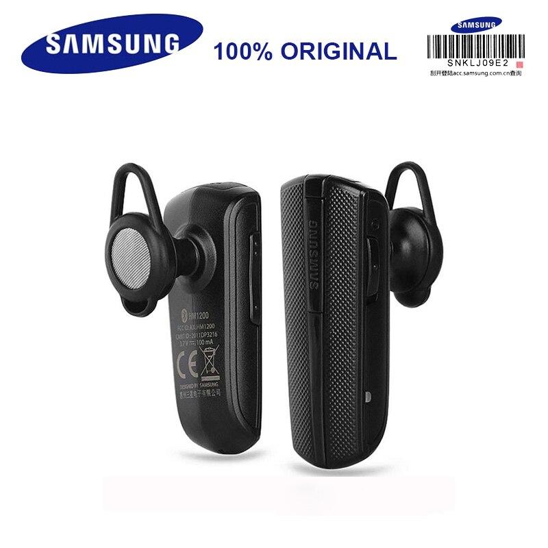 Samsung Hm1200 Wireless Earphones With Microphone Black In Ear Business Headphone Bluetooth 3 0 Support Phone Calls Wireless Earphones Earphones With Microphonesamsung Hm1200 Aliexpress