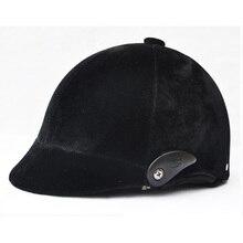 Регулируемый свободный размер, шлем для верховой езды, черный, высокое качество