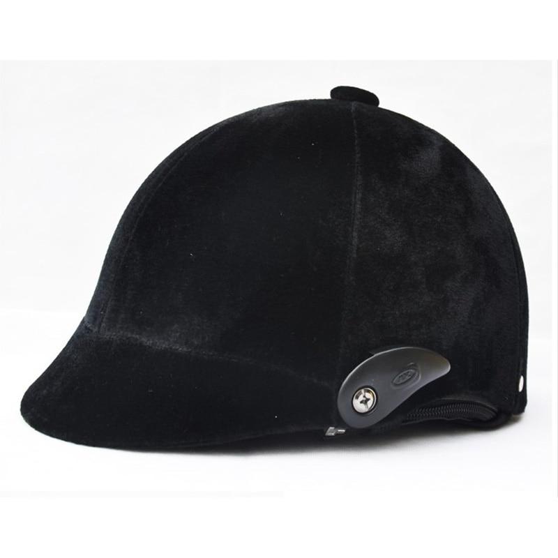 Регулируемый свободный размер Конный шлем для верховой езды Конный шлем Casco Capacete снаряжение для верховой езды черный Высокое качество