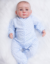 Lifelike Realistic Baby Doll Cuddle Soft Doll 21 inch GentleTouch Vinyl Weighted Body Baby Doll with Hand Painted Realistic Hair