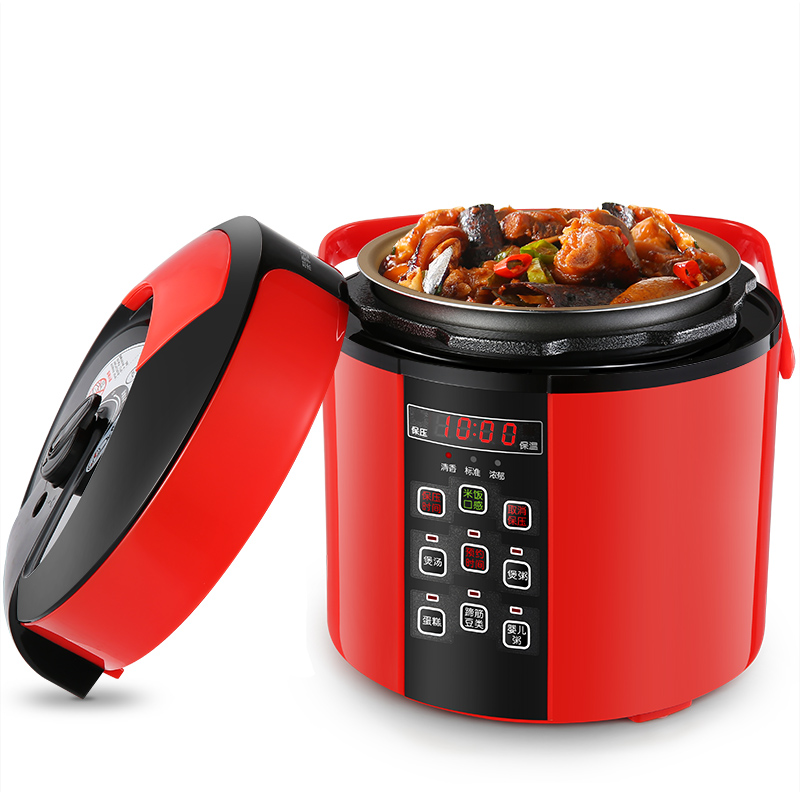 Electric Pressure Cookers Mini electric pressure cooker 2L1-2 rice intelligent high voltage. great big pressure cooker book