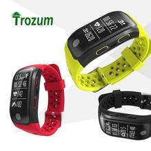 Trozum G03 GPS Smart Bande IP68 Étanche Sport Band GPS Puce Multi-sport Moniteur de Fréquence Cardiaque Appel Rappel S908 Bracelet à puce