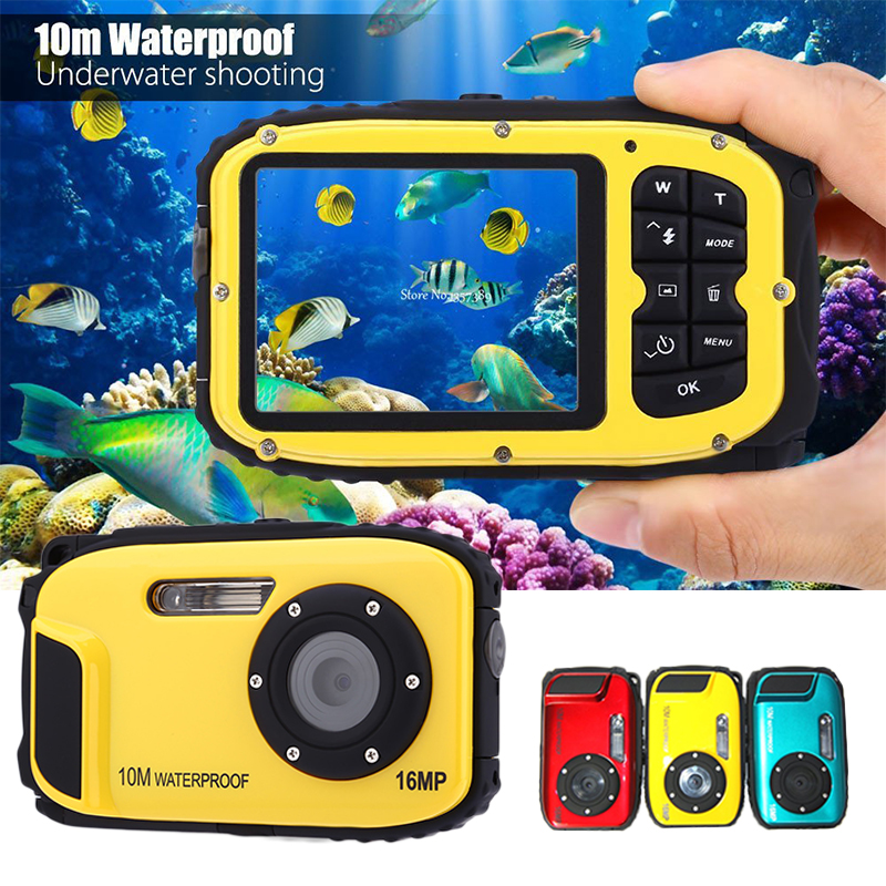 цены Fashion Precise HD Digital Camera DV Waterproof Camera Stable 2.7