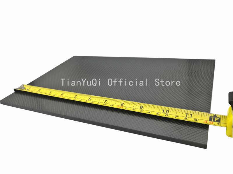 3 mm Tejido Liso Superficie Mate Tablero de autom/óvil Placa de Alta Resistencia a la abrasi/ón Ligera Prima05Sally Placa de Panel de Placa de Fibra de Carbono Completa de 300 200