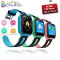 2019 BANGWEI Kinder Smart Uhr Baby Uhr LBS Position Tracker SOS Notfall Anruf Mädchen Junge Uhr Für 2g /3g/4g SIM Karte-in Smart Watches aus Verbraucherelektronik bei