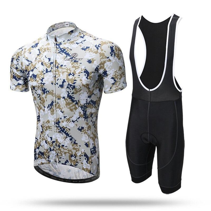 2018 nouveaux ensembles de cyclisme vtt combinaison courte sangle été à manches courtes vêtements de cyclisme équipement de cyclisme