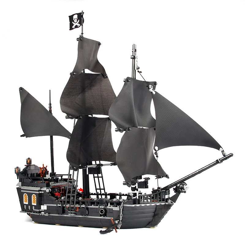 The Black Pearl Ship Pirates Of The Caribbean Model Building Blocks Set 804 Pcs Boys Toys pirates of the caribbean at world s end level 3 cd