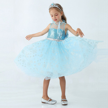 Baby Girl Snow Queen Elsa Princess Dress Children Kid Halloween Elsa Cosplay Costume Long Cloak Dress Party elza Vestidos Menina baby girls dress christmas anna elsa cosplay costume summer dresses girl princess elsa dress for birthday party vestidos menina