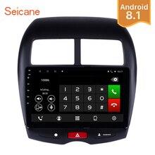 Seicane 10.1 pollici Android 8.1 GPS Per Auto Radio Lettore Unità 8-Core per 2010 2011 2012-2015 Mitsubishi ASX Peugeot 4008 HD 1024*600