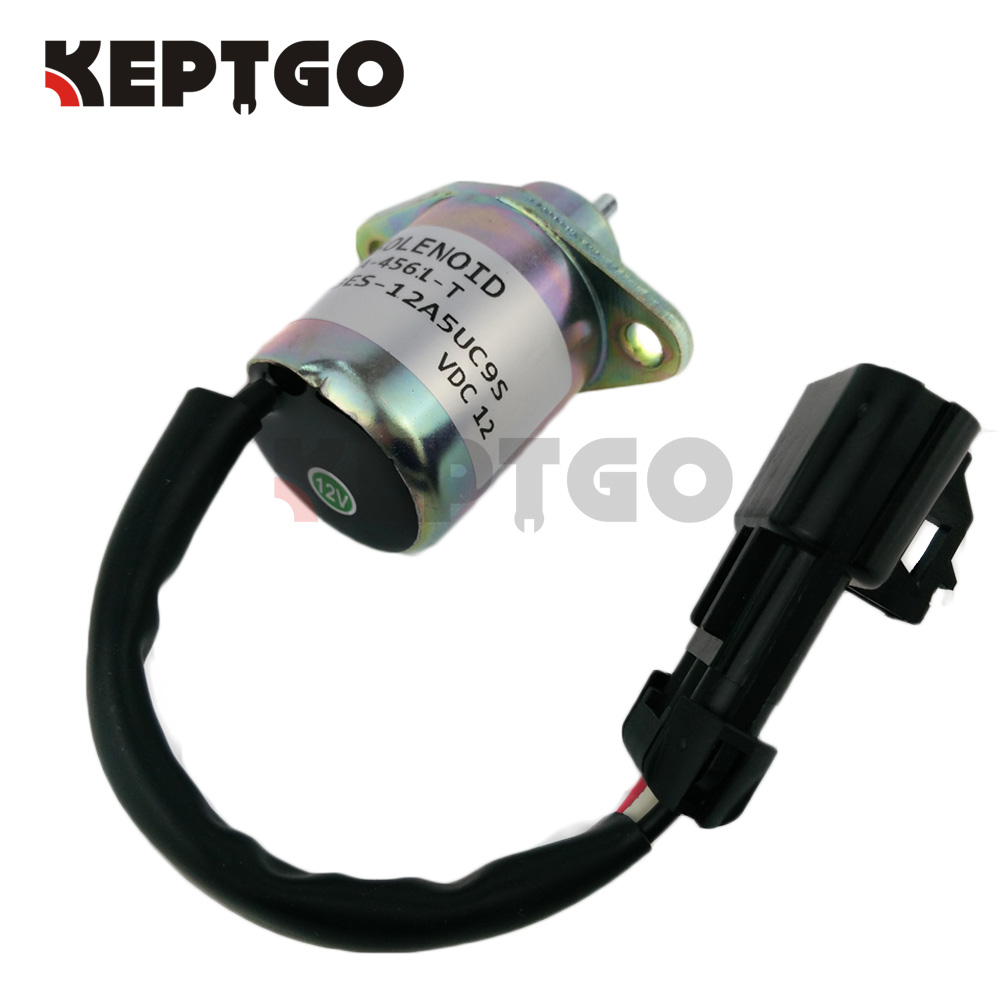 Fuel Shutoff Solenoid Valve R-25-15230-01 251523001 for KUBOTA V1505 R90 D1105