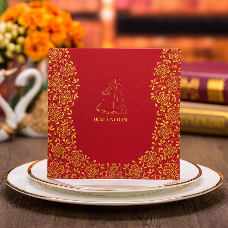50pcs Laser Cut Bride and Groom Marriage Wedding Invitations Cards Greeting Cards Invite Friends Postcard Event Party Supplies 1pcs sample laser cut bride and groom marriage wedding invitations cards greeting cards 3d cards postcard event party supplies