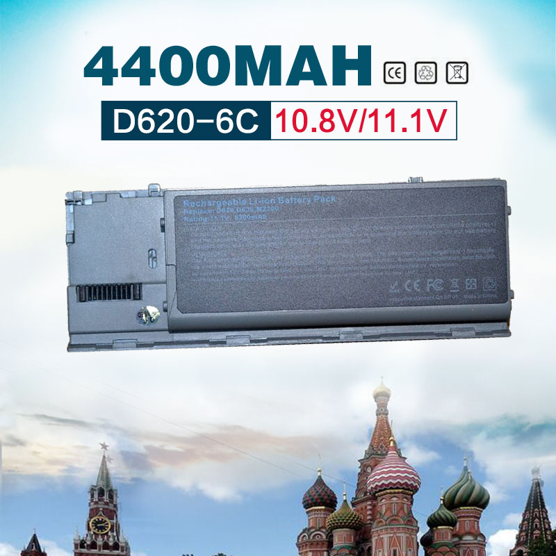 6 Cells Laptop Battery For Dell Latitude D620 D630 D631 KD491 KD492 KD494 KD495 PC764 PC765 PD685 RD300 TC030 hsw 7800mah laptop battery for dell latitude d620 d630 d631 m2300 kd491 kd492 kd494 kd495 nt379 pc764 pc765 pd685 rd300 tc030
