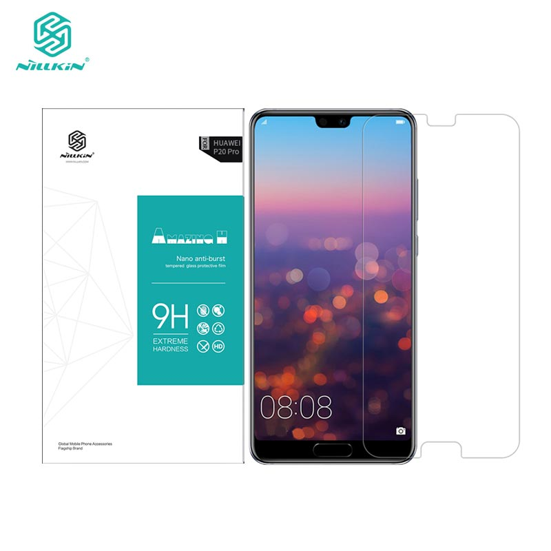 Huawei P20 Pro Gehärtetem Glas Huawei P20 Pro Glas Nillkin Erstaunlich H 0,33 MM Displayschutzfolie