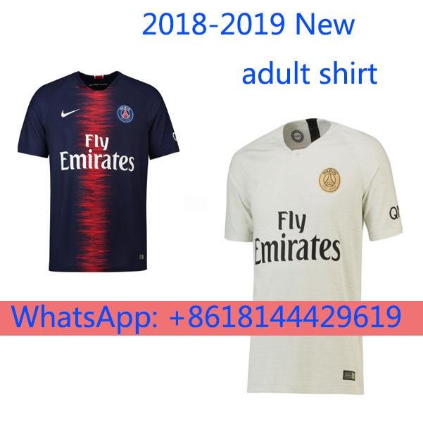 1beb503f3 2018 2019 PSG New Jersey Paris Saint Germain 2019 Jersey Free Shipping Psg  Football Jersey