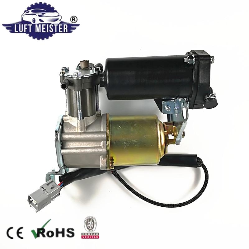 Air Suspension Compressor Pump With Dryer For Toyota Land Cruiser Prado 120 / 4Runner & Lexus GX470 OE#48910-60020, 48910-60021