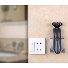 1pc Wall Mounted Razor Rack 304 Stainless Steel Electric Shaver Storage Bathroom Holder for High Quality