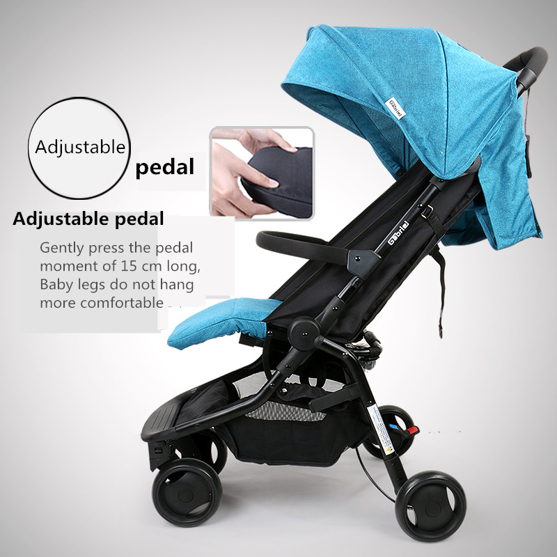 European Baby Strollers Pocket Stroller 5.9kg 12 Colors Baby Light Folding Portable Bb Carriage Carry On Air Plane 8 Free Gifts 2017 pouch new baby stroller super light umbrella baby car folding carry on air plane directly minnie size