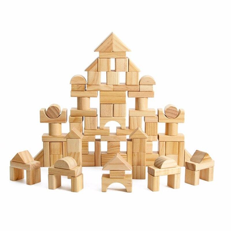1 Stück Von Gebäude Block 22 32 60 Stück Von Holz Große Block Von Eukalyptus Gebäude Sicherheit Und Umweltschutz