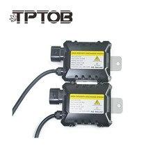TPTOB 12 v 55 55 w Digital hid slim lastro hid xenon lastro w bloco de ignição eletrônico lastro para HID kit xenon H7 H4 H1 H3 H11