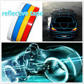 1M X2cm Reflective 3M Tape Stickers Strip Trim Motorcycle Car Truck Universal Used Sticker Car styling