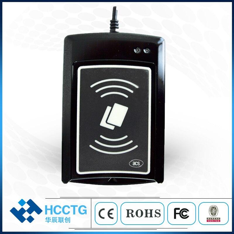 Double Interface USB NFC + IC puce tablette PC ISO 7816 lecteur de carte à puce ACR1281U-C1