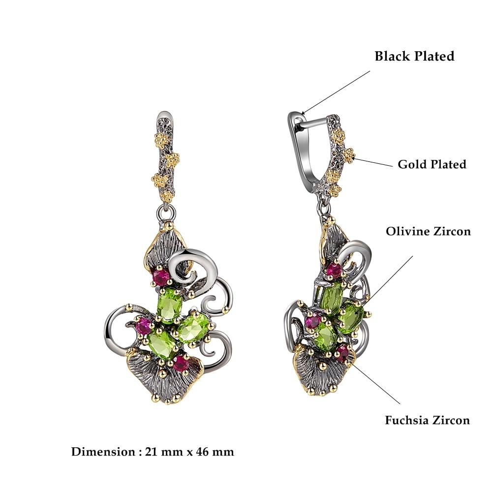 WE3873 dimension zircon stone ring vintage jewelry (1)