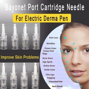 Image 2 - 100 pz/lotto Mezoroller A Baionetta di Sostituzione delle Cartucce Per Penna Derma Micro aghi 9 pin / 12 pin / 36 pin / nano Micro Nano Ago