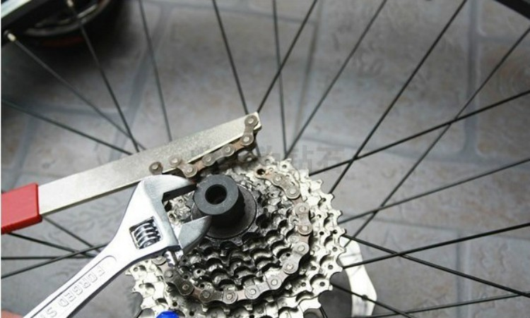 VXM MTB Bicycle Repair Tools Freewheel Turner Chain Whip Cassette Sprocket Remover Tools Freewheel Bicycle Parts Accessories