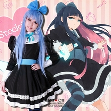 font b Anime b font Panty Stocking with Garterbelt font b Cosplay b font Maid