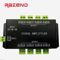 DC5V/12V Led Pixel WS2811 WS2812B SK6812 Signal repeater Amplifier controller