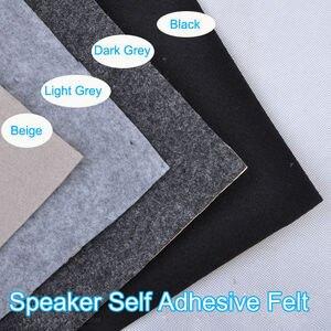 Image 2 - Remendo autoadesivo 1m x 0.5m da tira da fita da caixa do subwoofer de feltro do pano do orador