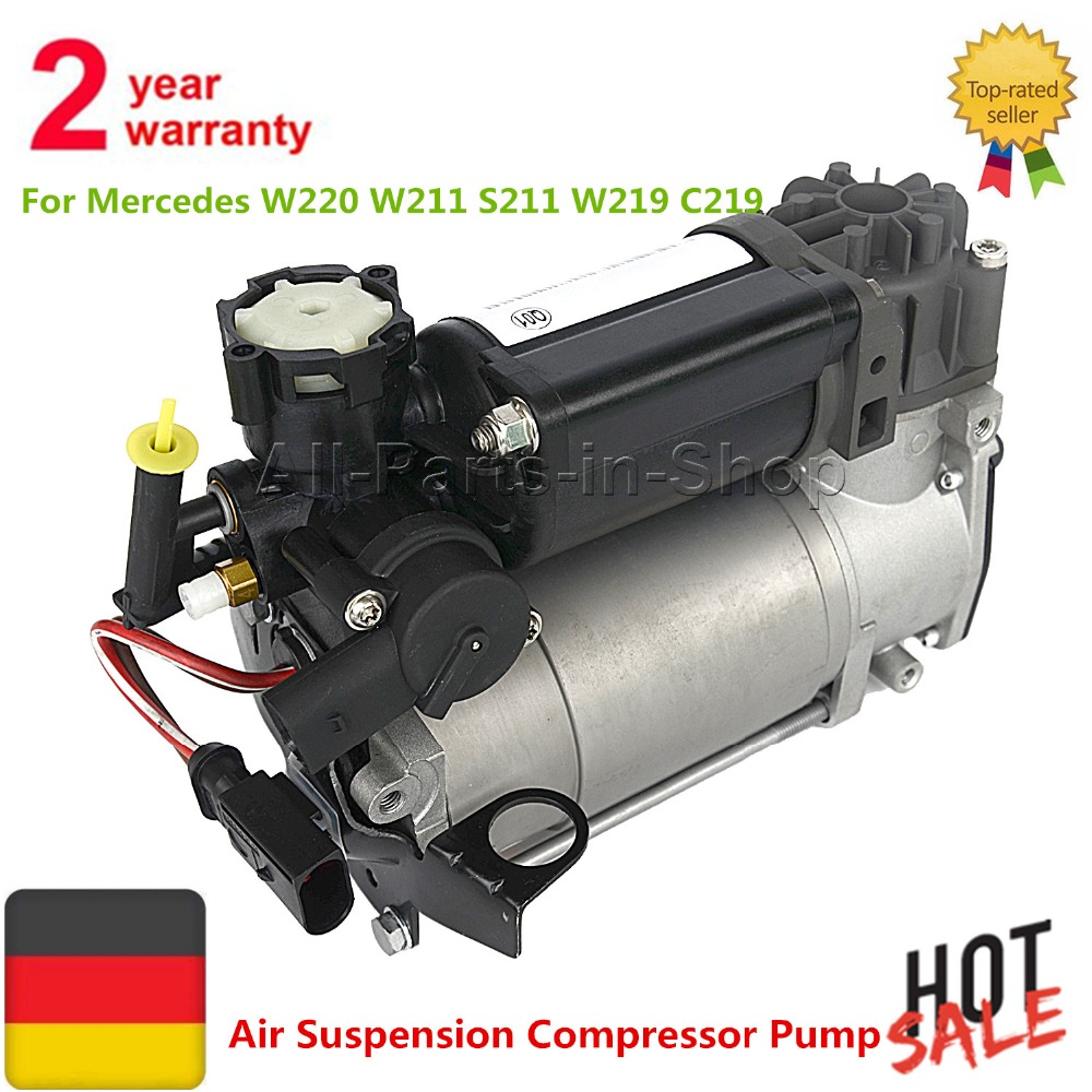 Air Suspension Compressor Pump For Mercedes W220 W211 S211 W219 C219 E550 S500 S430 Airmatic 2203200104 2203200304 2113200104