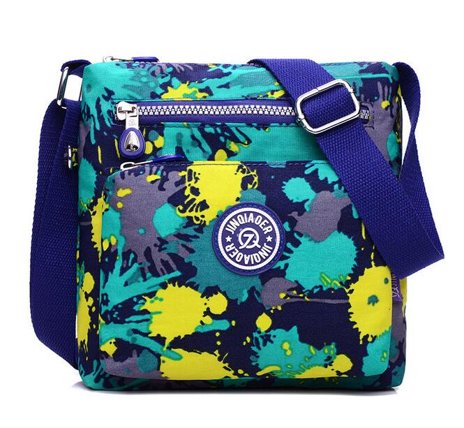 Women Small Shoulder Bags Waterproof Nylon Messenger Bag Multi-function Crossbody Bag High Quality Handbags Bolsas Feminina