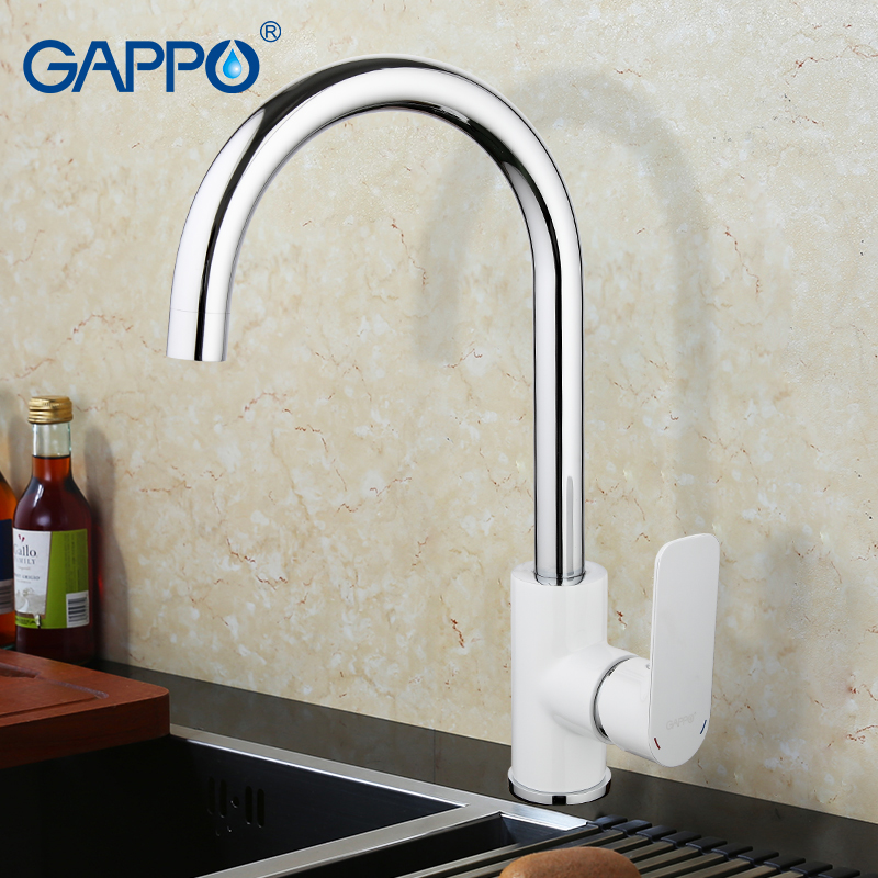 GAPPO kitchen sink mixer tap kitchen faucet mixer single hole deck mounted kitchen faucets tap mixer crane torneira para cozinha new arrival tall bathroom sink faucet mixer cold and hot kitchen tap single hole water tap kitchen faucet torneira cozinha
