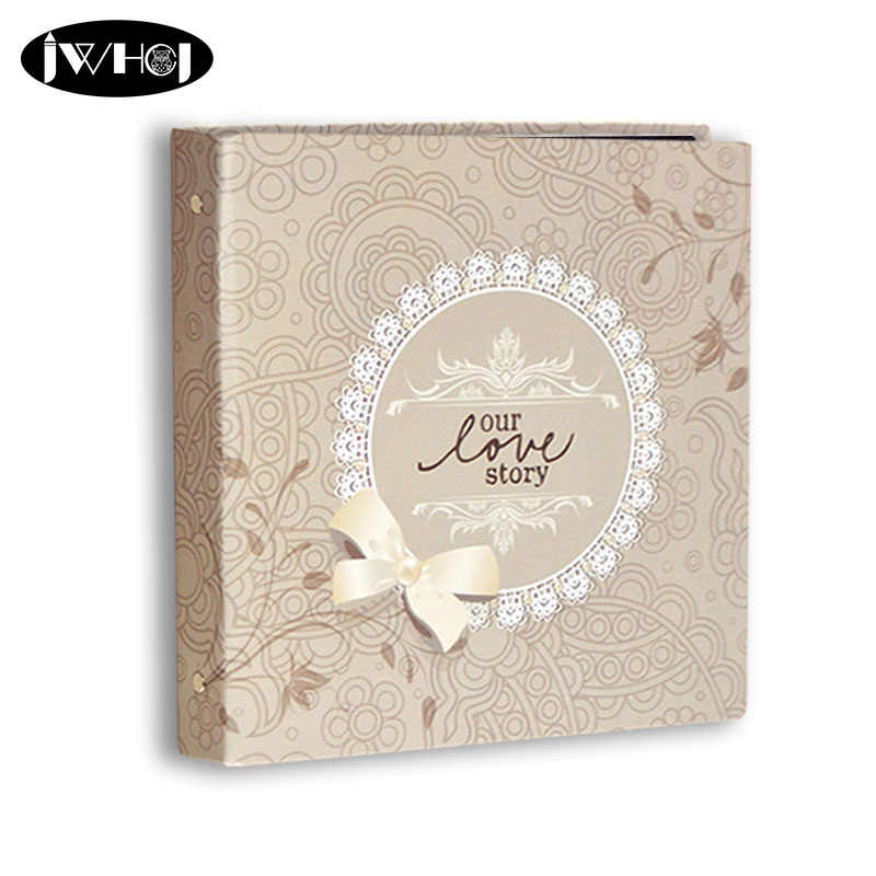 1 pcs our love story 12 inch Photo Album Lovers wedding Photos family Memory Record Album Handmade Sticky Type scrapbooking gift