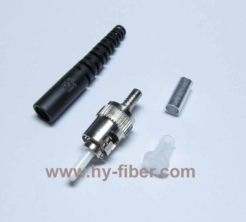 ST konnektör kitleri SM/PC, konut metal, önyükleme rengi siyah/sarı