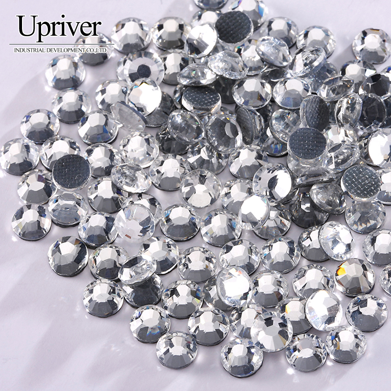Dreamers market ss4 ss50 clear crystal flat back strass for 12133 door knob