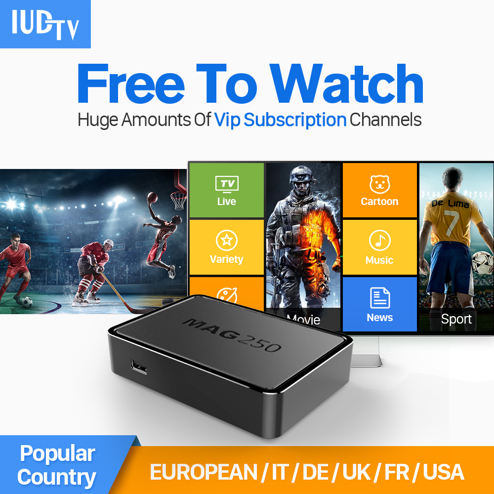 Dalletektv MAG 250 Smart IPTV Set Top Box Linux Arabic IPTV Europe French Channel HD IPTV Subscription 1 year  IUDTV account x92 android iptv box s912 set top box 700 live arabic iptv europe french iptv subscription 1 year iptv account code