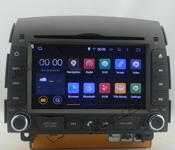 Quad core Android 8 1 Car DVD GPS radio Navigation for Hyundai