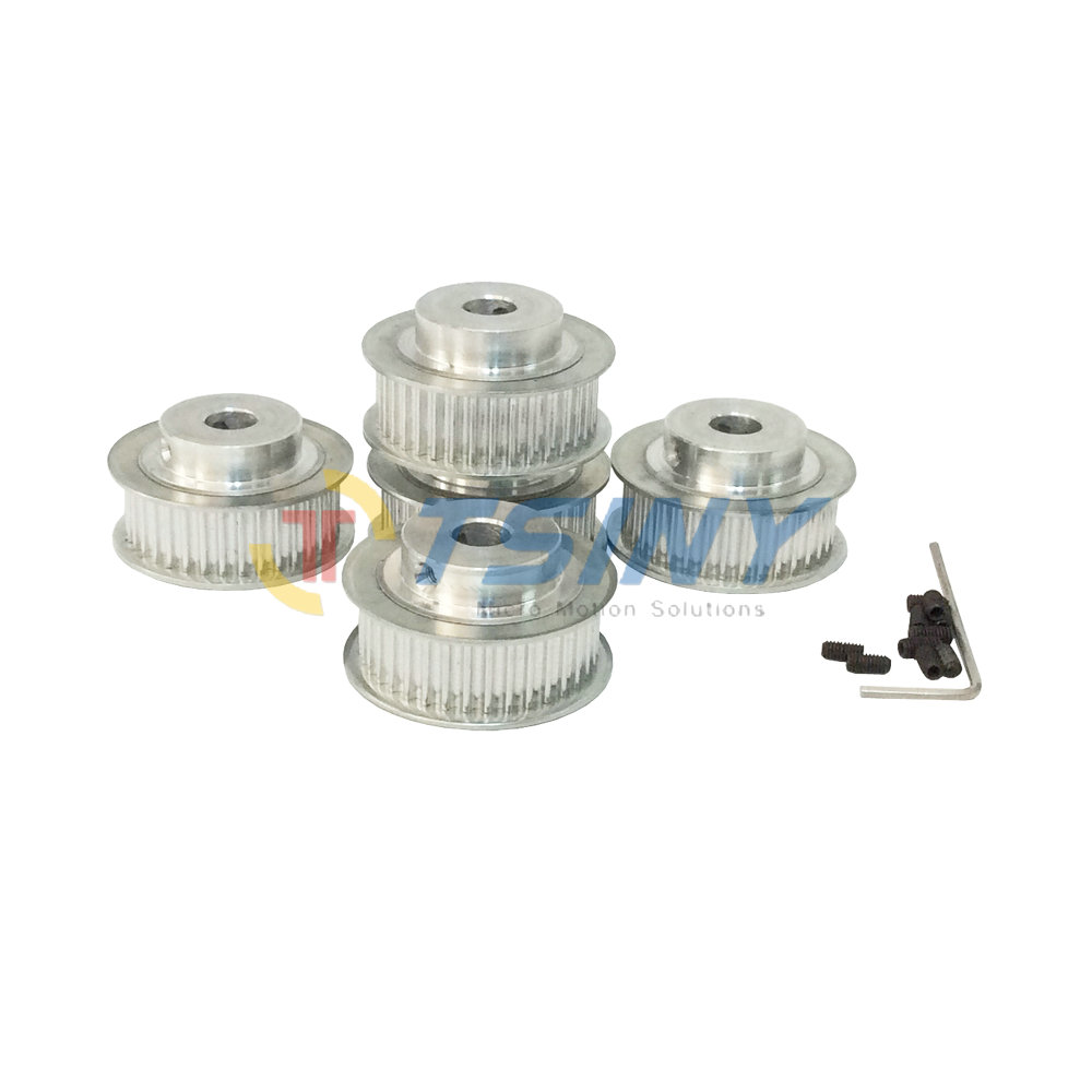 Pack of 5pcs HTD 3M Timing Belt Pulley Pitch 3mm Teeth Width 11mm 36 Teeth Bore 6mm 8mm 10mm 12mm for 3D Printer Accessories цены