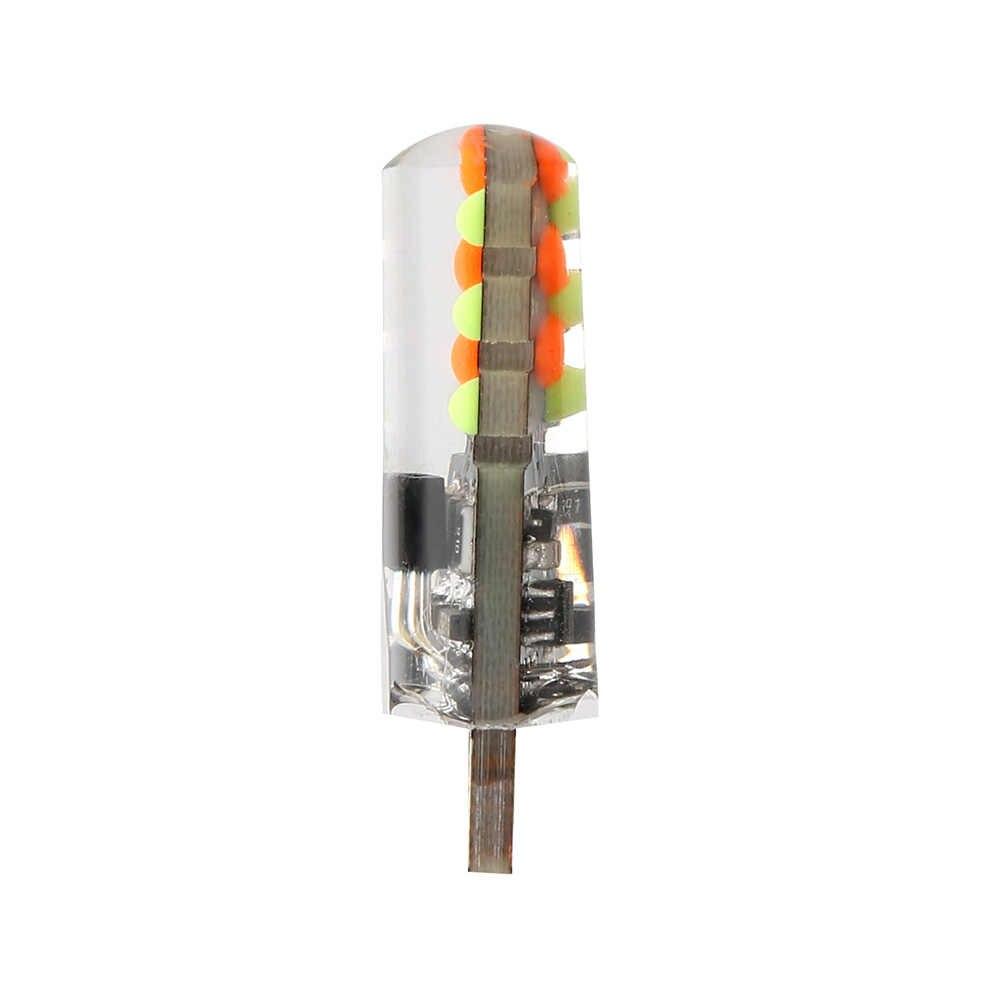 12V Mobil RGB LED T10 W5W RGB LED 5050 SMD Lampu Sinyal Membaca Baji Lampu Mobil Interior Lampu Hias remote Mobil Styling