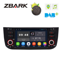 6.2 Android 8.1 Car DVD Player Radio GPS WiFi DAB+ Canbus for FIAT Punto 199 310 / Linea 323 2012 2013 2014 2015 2016 YHLYT3L
