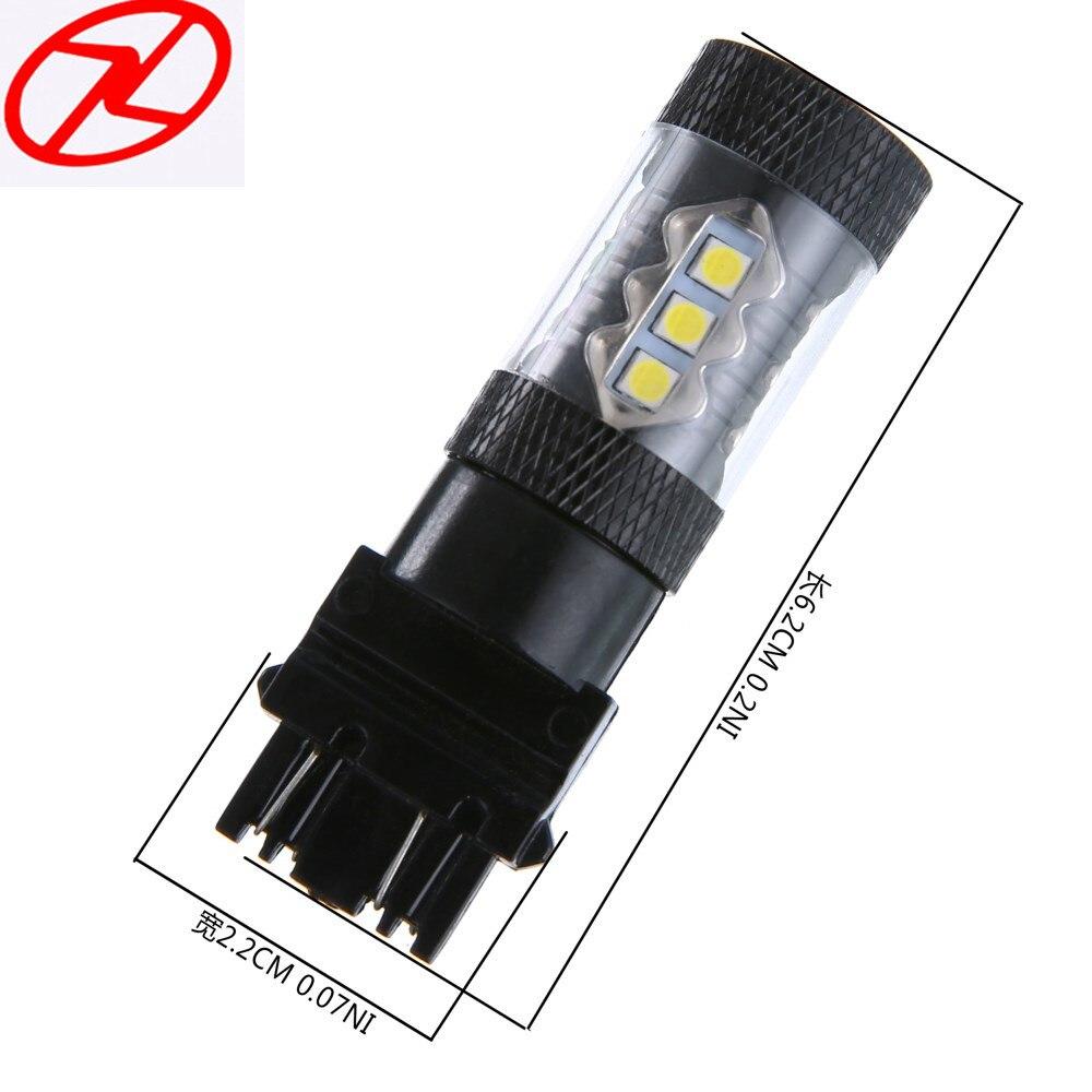 2x 6000K White 3157 3156 High Power LED Bulbs Fog DRL Driving Light Head Lamp Backup Led Reverse Lamp